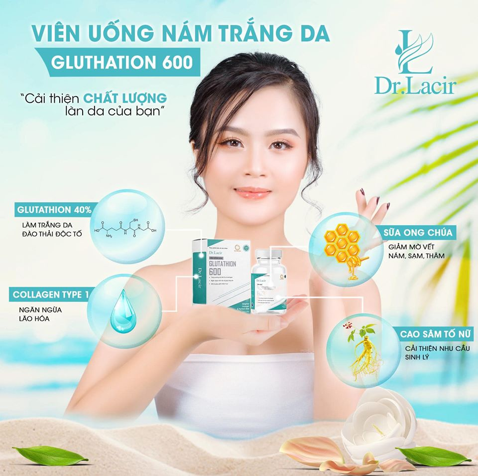 vien-uong-nam-trang-da-glutathione-600-drlacir
